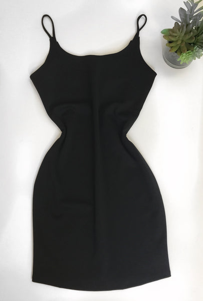 Simplistic Mini Stretch Dress  - Kris Janel