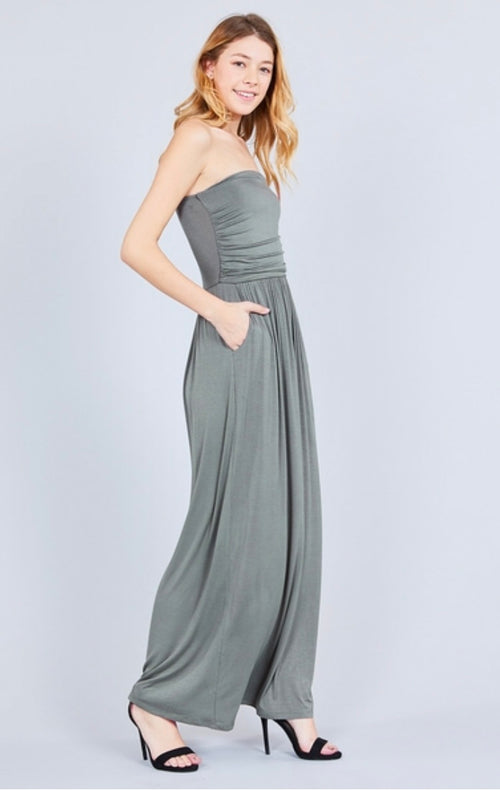Tube Top Maxi Dress  - Kris Janel