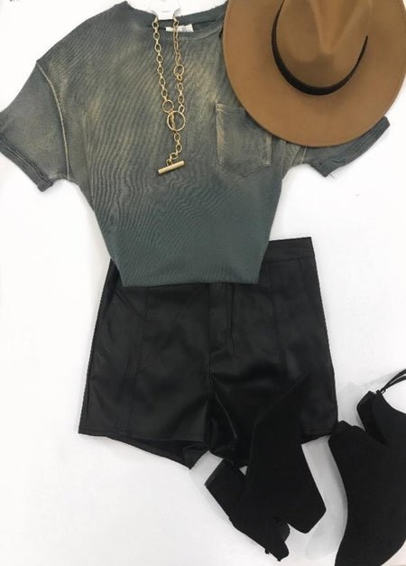Wrap Crop Top