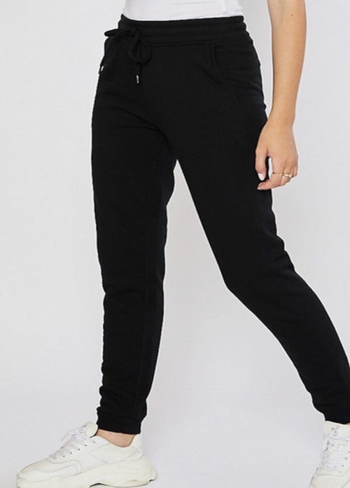 Not So Basic Joggers - Black