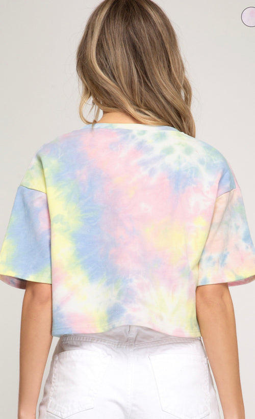 Tie Dyed Crop Top  - Kris Janel