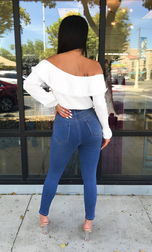 Layla Off Shoulder Top  - Kris Janel