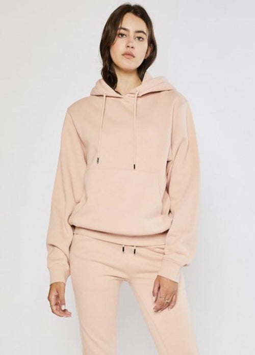 Not So Basic Hoodie - Salmon