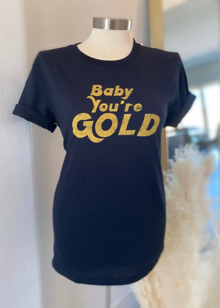 "Vintage ""Baby You're Gold"" Tee"