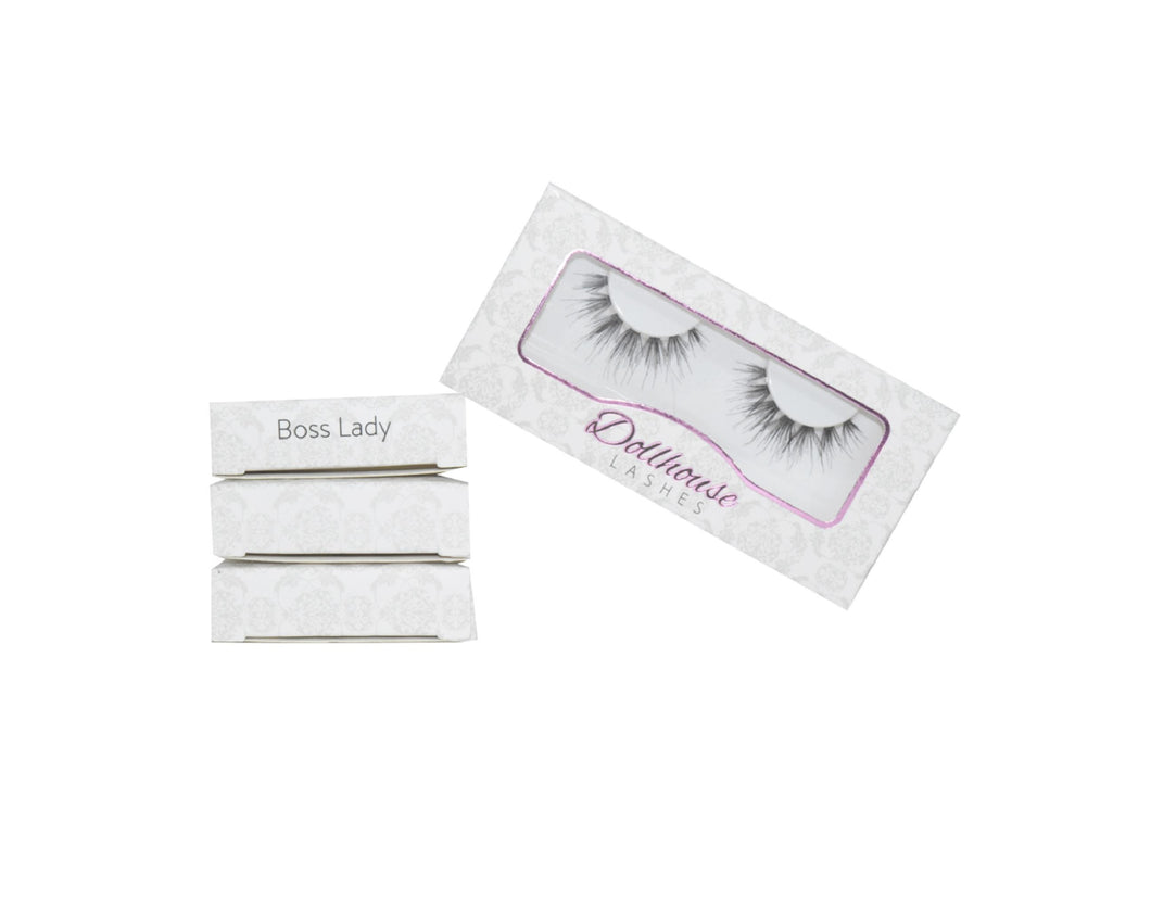 BOSS LADY Gift Set | Dollhouse Lashes