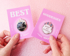 THE GODDESS BFF PIN SET