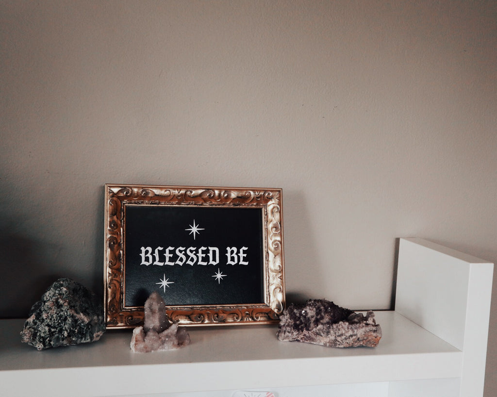 BLESSED BE PRINT