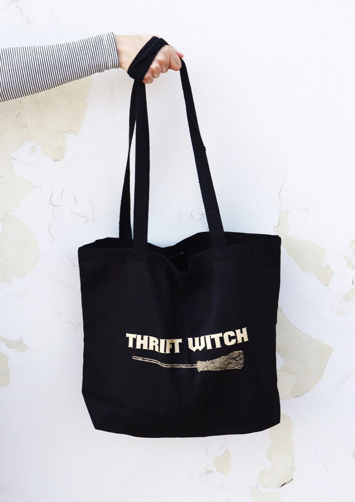 THRIFT WITCH OVERSIZED TOTE