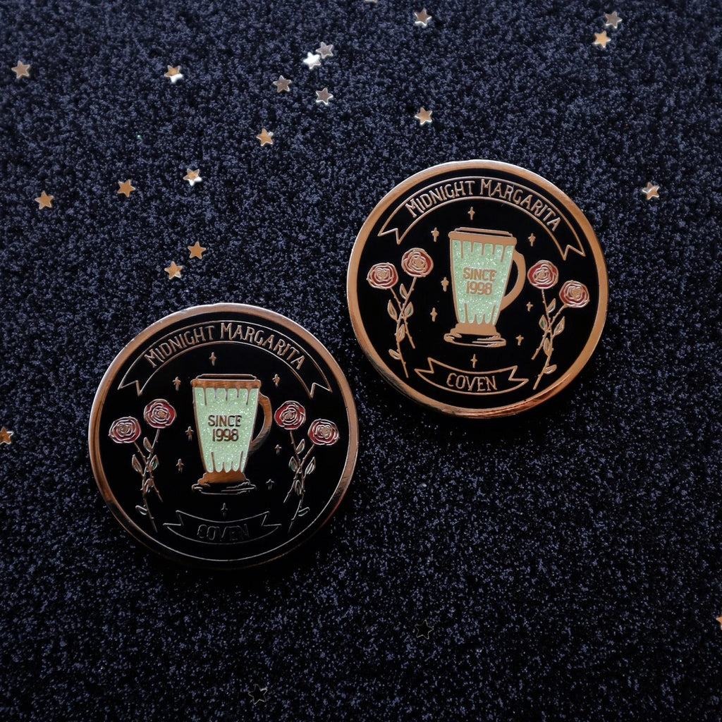 MIDNIGHT MARGARITA COVEN PIN (PRE-ORDER SHIPS 10/20)