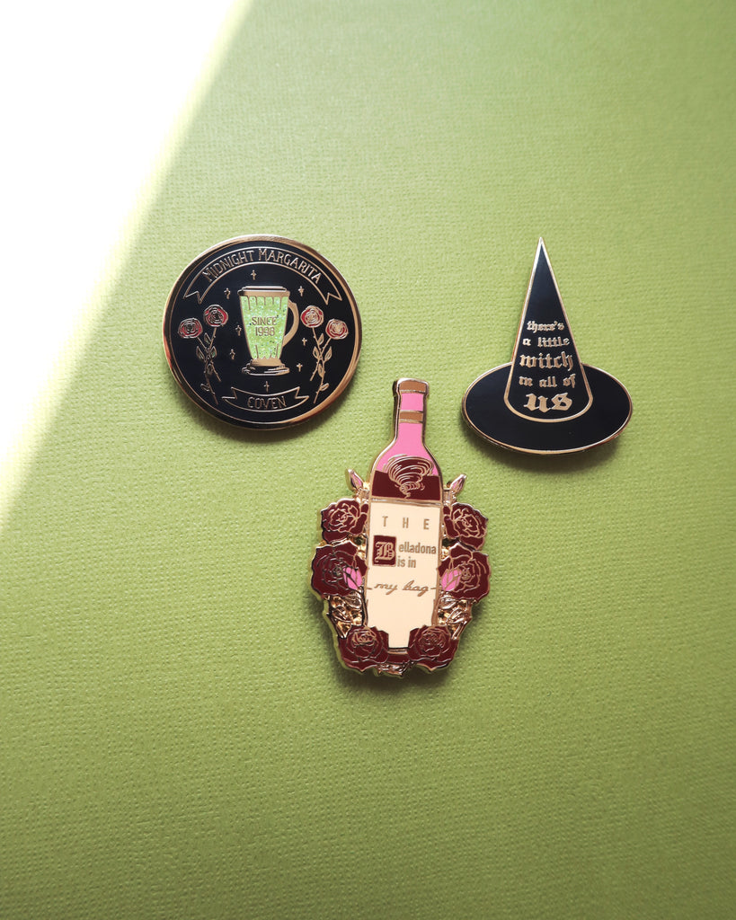 MIDNIGHT MARGARITA COVEN PIN