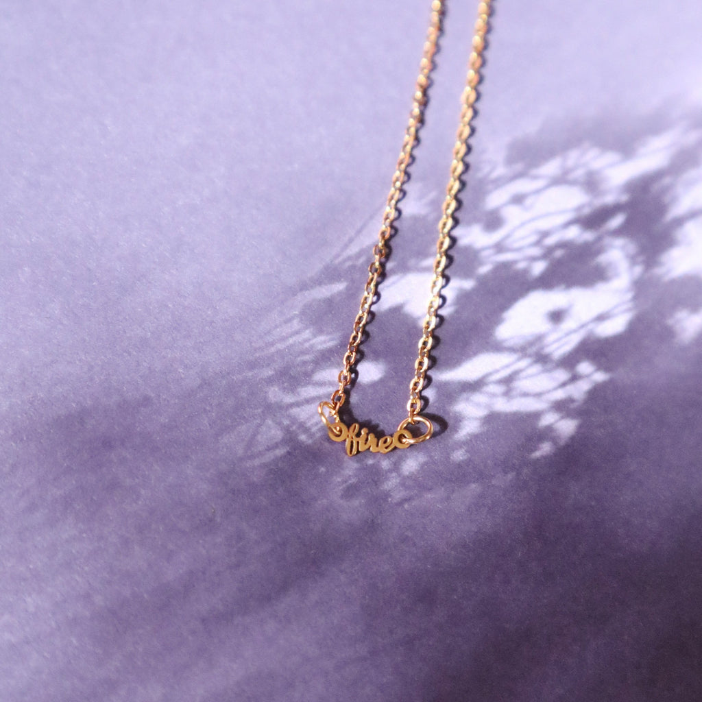 TINY ELEMENTS NECKLACE