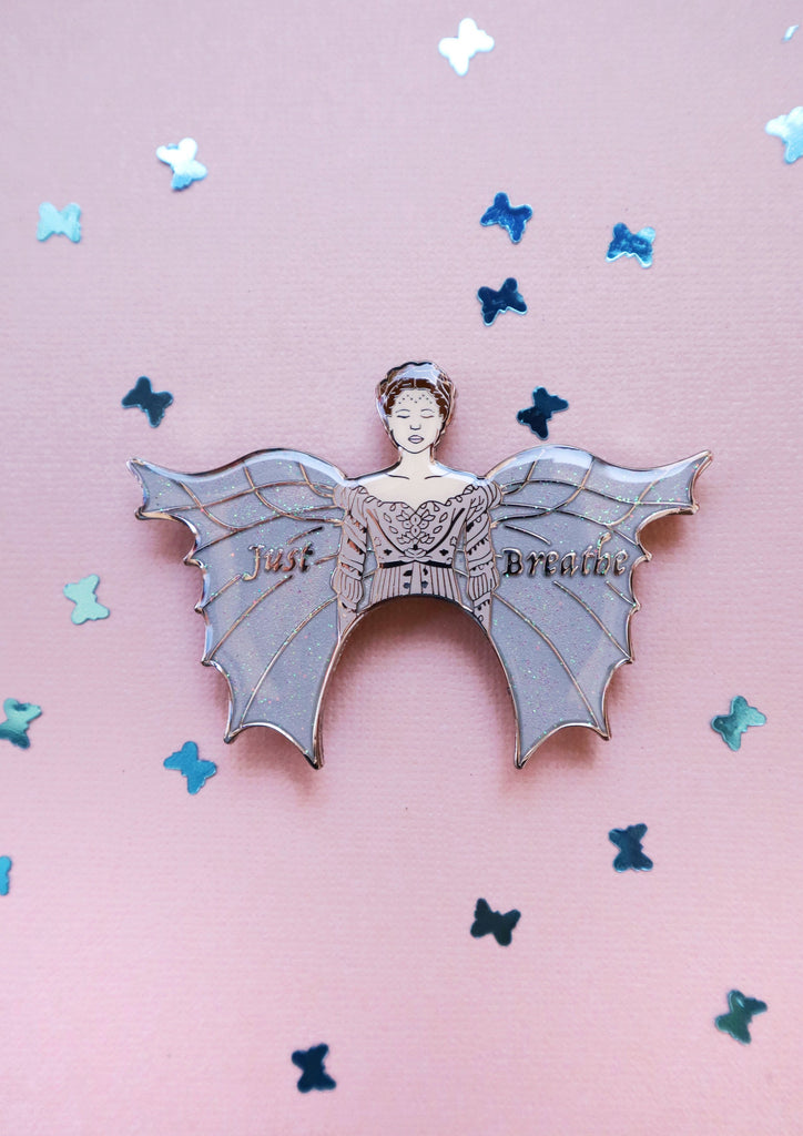JUST BREATHE BROOCH