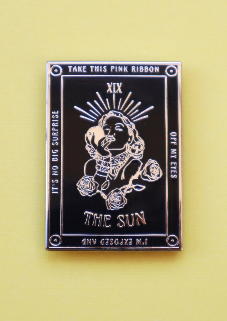 GWEN THE SUN TAROT PIN