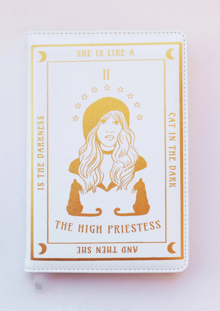 STEVIE THE HIGH PRIESTESS TAROT JOURNAL