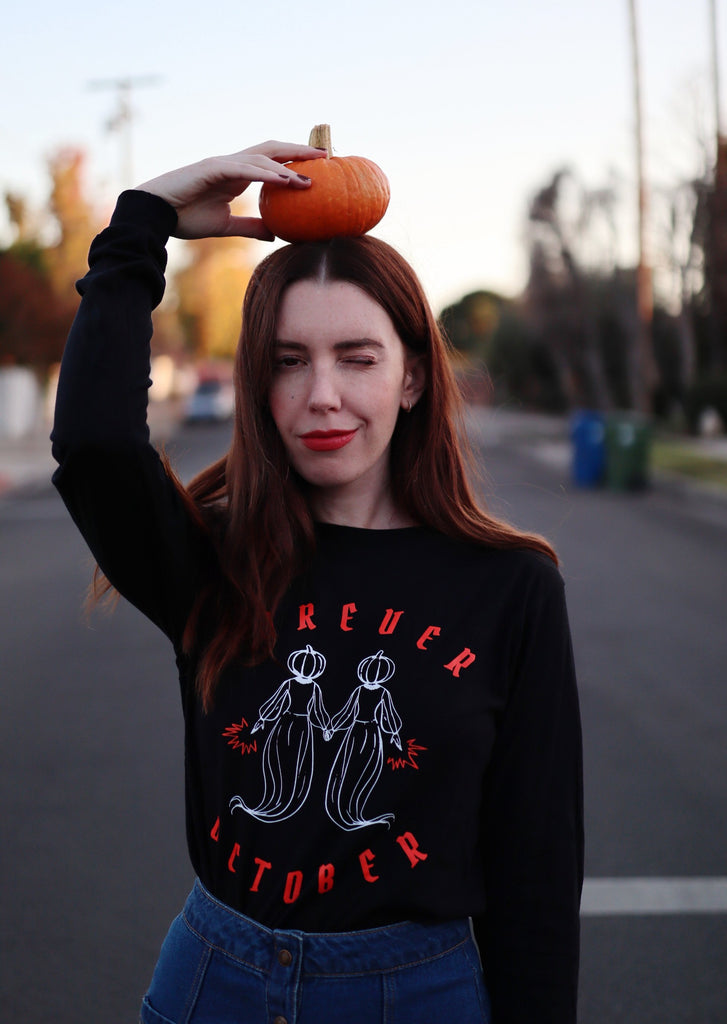 FOREVER OCTOBER LONG SLEEVE TEE