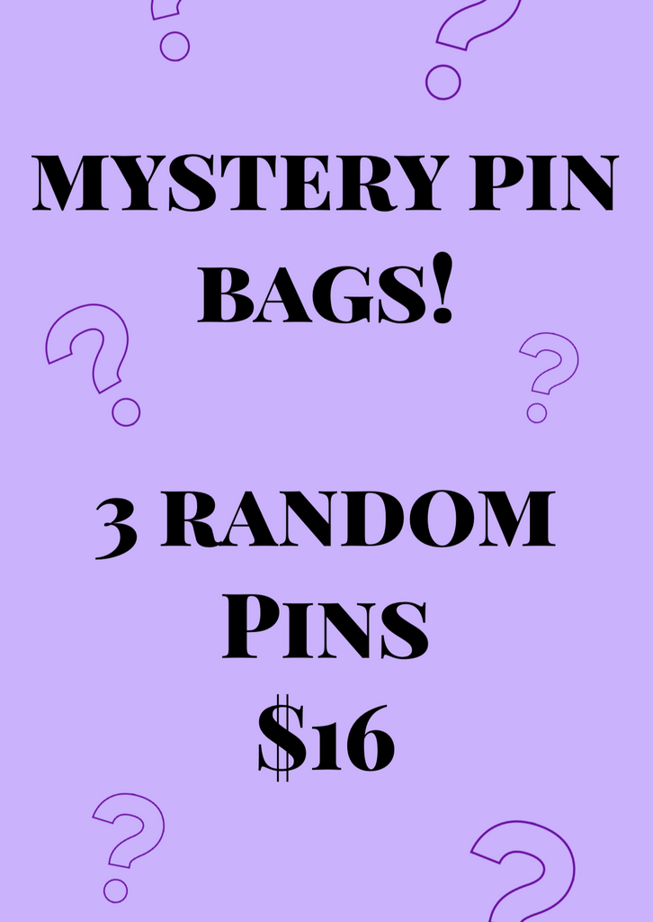 MYSTERY PIN BAGS