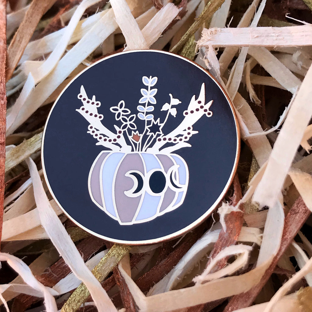DARK SEASONS PIN