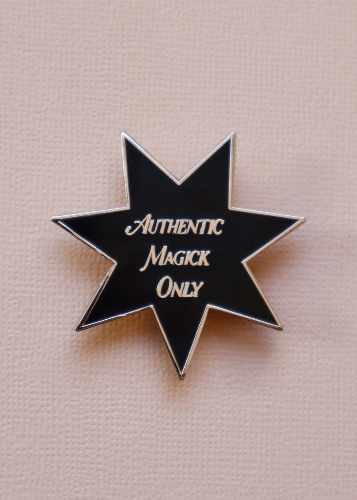 AUTHENTIC MAGICK ONLY PIN