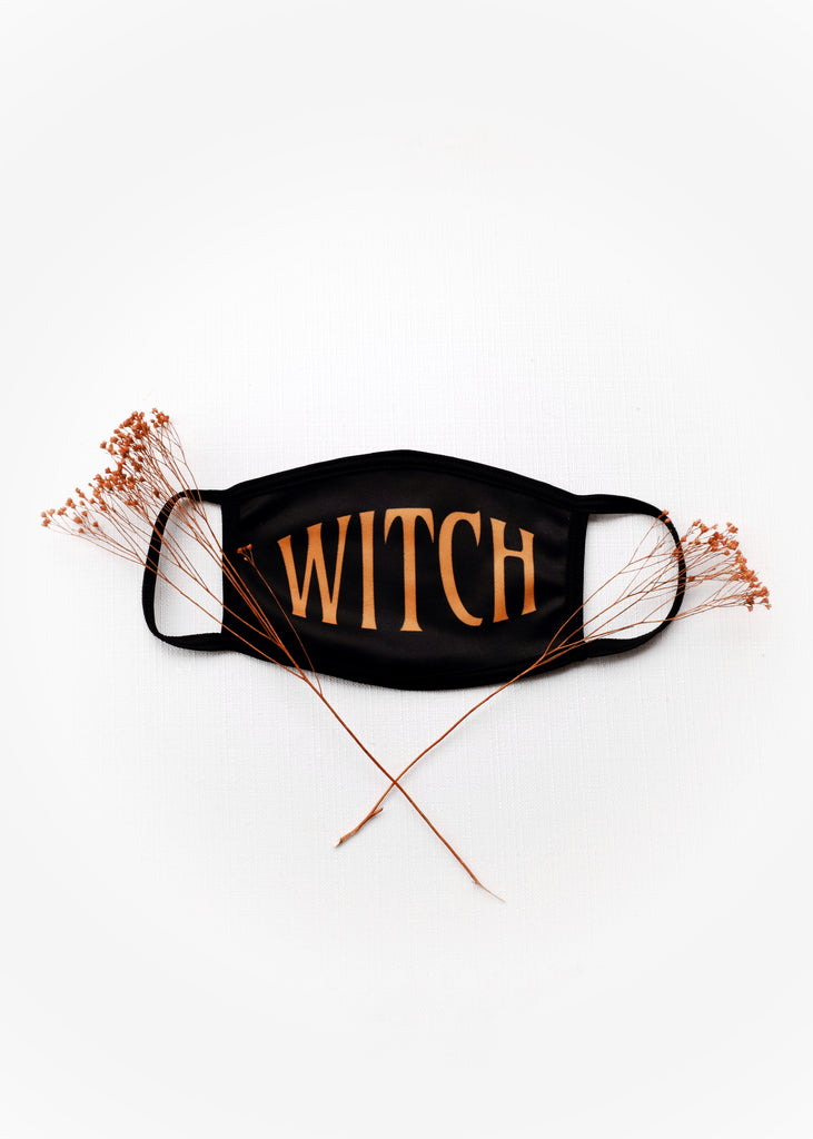 WITCH FACE MASK