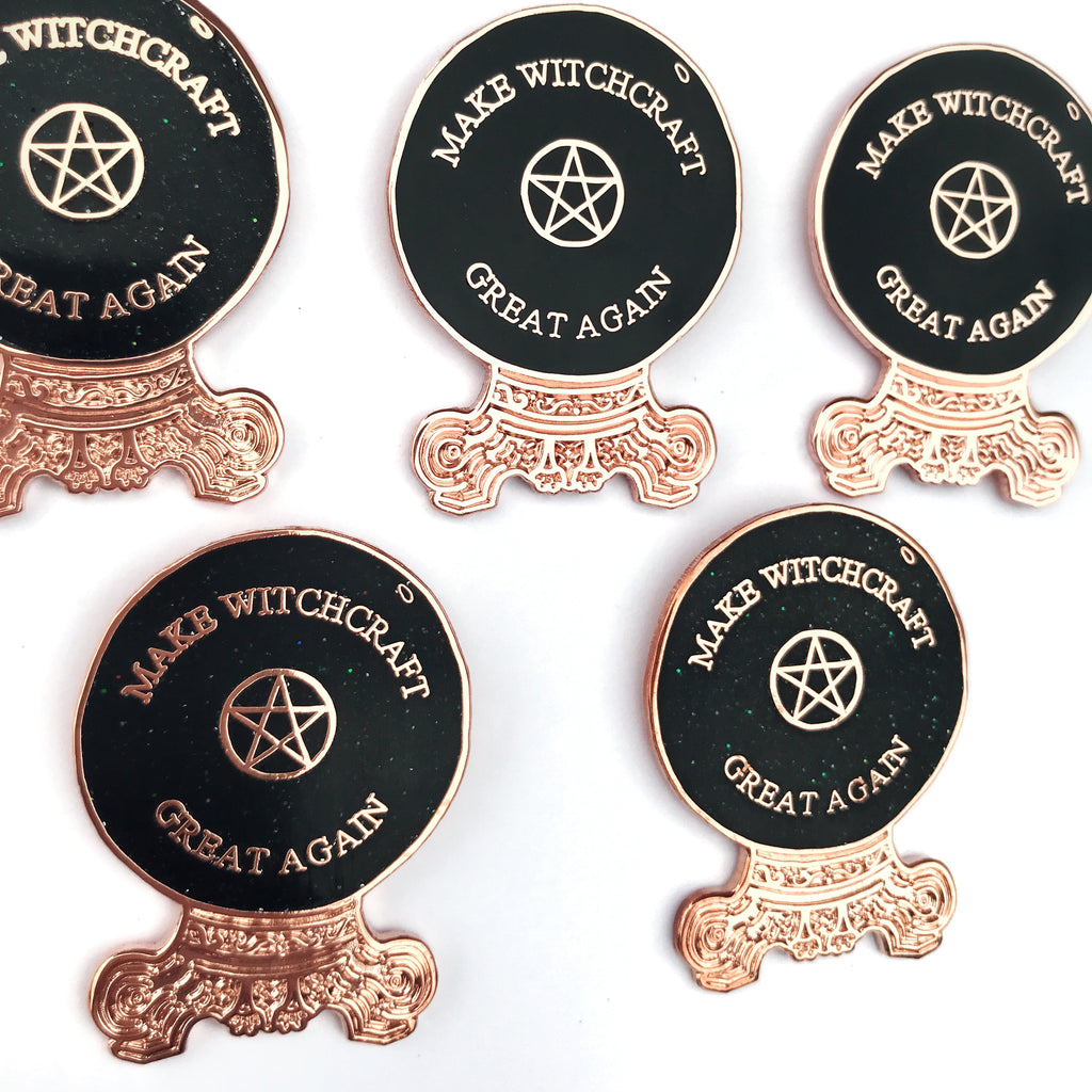 MAKE WITCHCRAFT GREAT AGAIN PIN