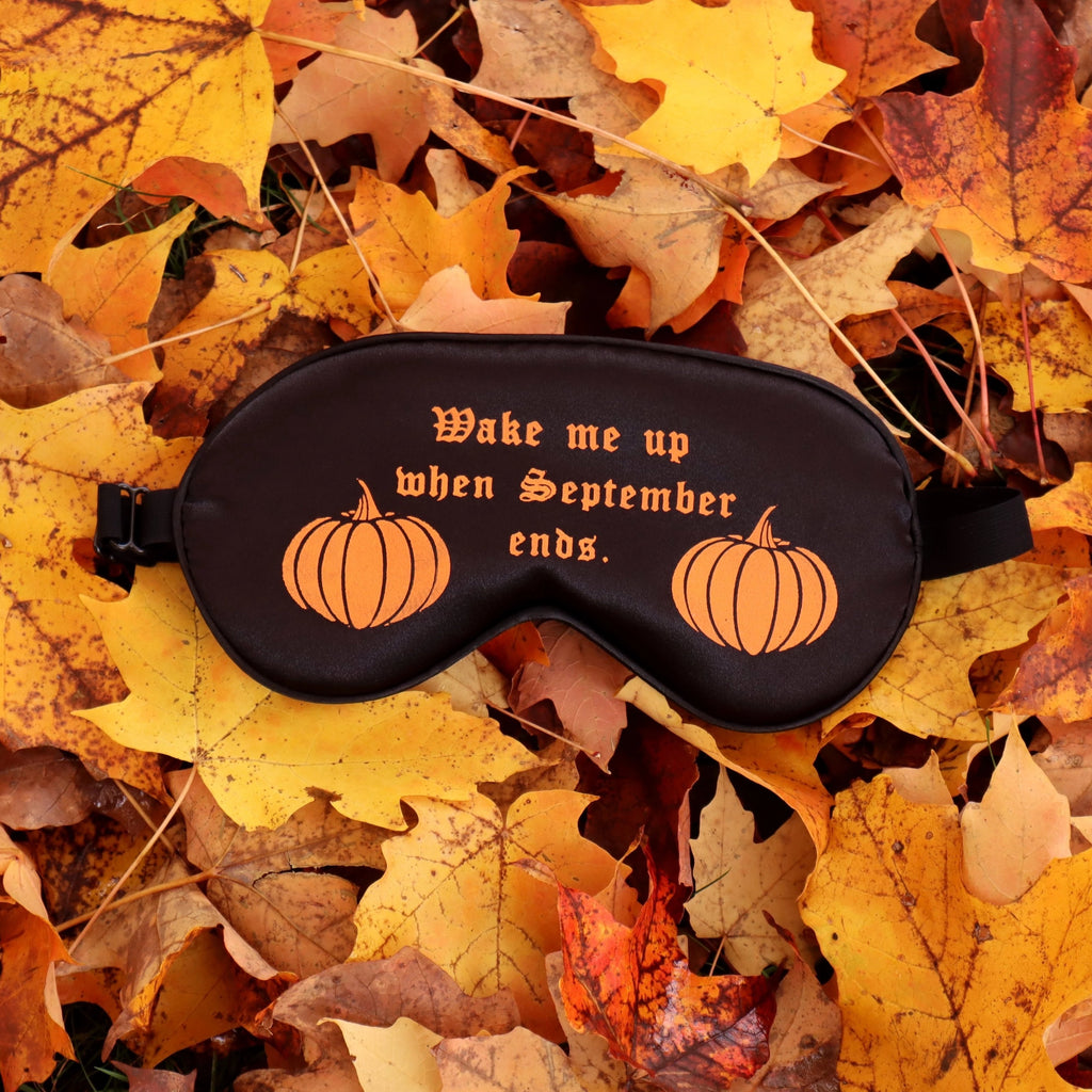 WAKE ME UP PUMPKIN SLEEP MASK