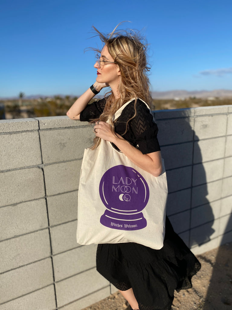 LADY MOON CO. TOTE