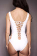 Marbella Lace Up Swimsuit