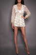 Clara V Neck Sequin Playsuit