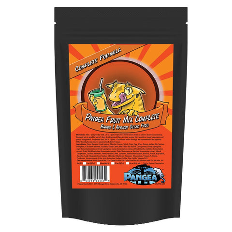 Pangea Fruit Mix™ Banana Apricot Complete Gecko Diet