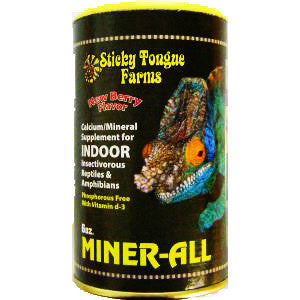 Miner-All Indoor Reptile Supplement