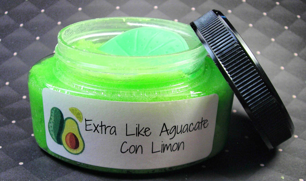 Chubby Chico Charms - Extra like Aguacate con limon Body Sugar Scrub  Latinx