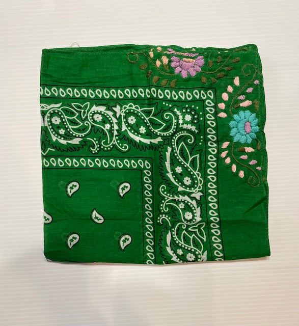 Embroidered Bandanas
