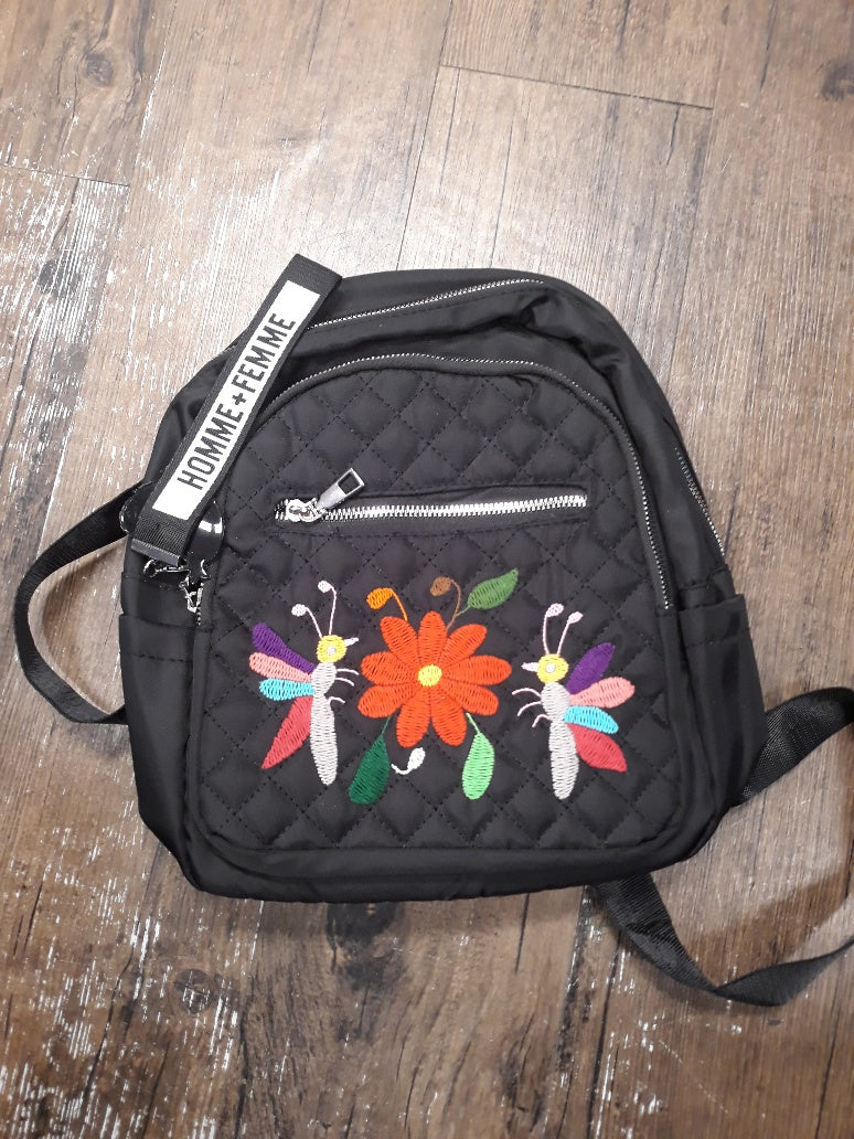 otomi black backpack