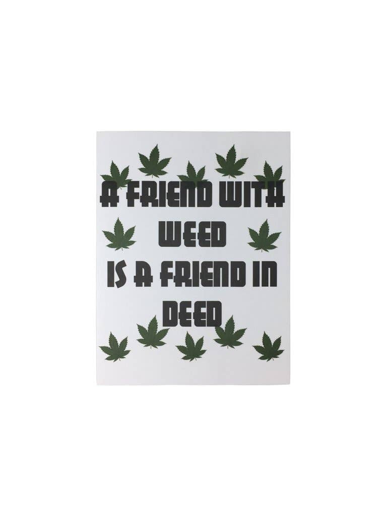LA Trading Co - Greeting Card - Friend With Weed