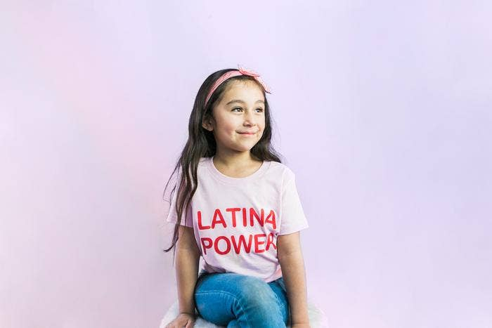 Jen Zeano Designs - Kids Latina Power Tee