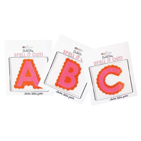 Packed Party- The Details Sticker Letter