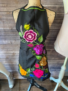 Artesenales Hand Embroidered Aprons with Monogram or Name