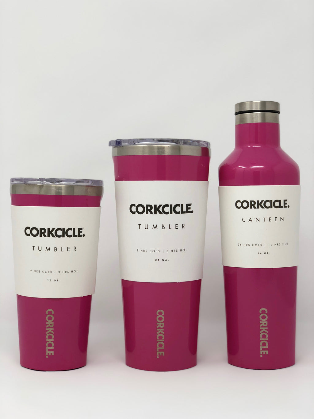 Corkcicle (Hot Pink)