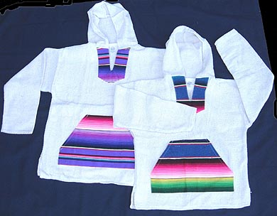 Serape Combination Baja Shirt