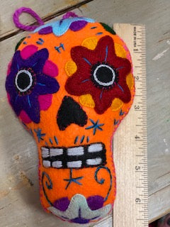 Calavera Colgante 6inch in Assorted Colors