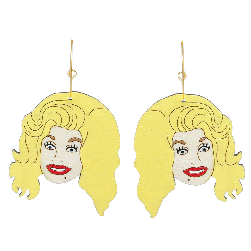 Le Chic Miami - Dolly Parton Hoop Earrings