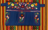 Mexican Puebla Embroidered Clutch