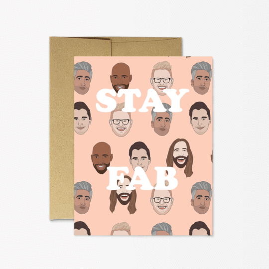 Party Mountain Paper co.  - Stay Fab Card