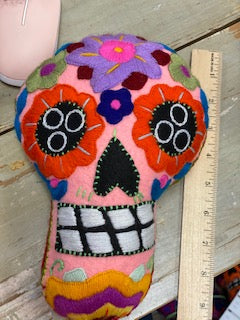 Calavera Colgante 9 inch Assorted Colors