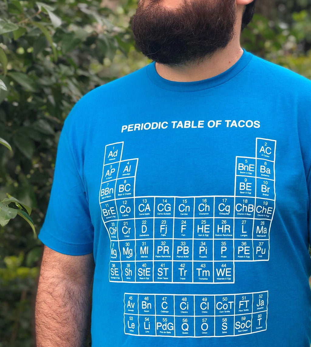 Periodic Table of Tacos