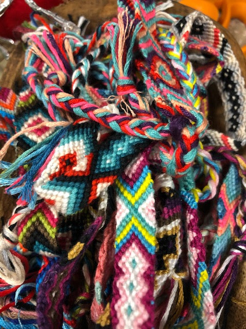 Mexican Braided Bracelets - Assorted