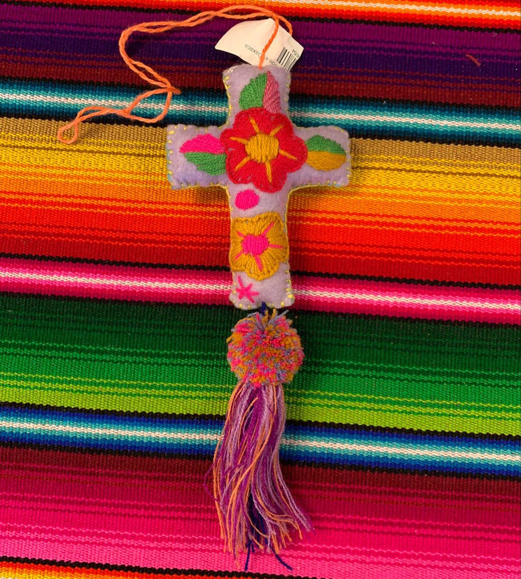 Cross Colgante Ornament made in Oaxaca