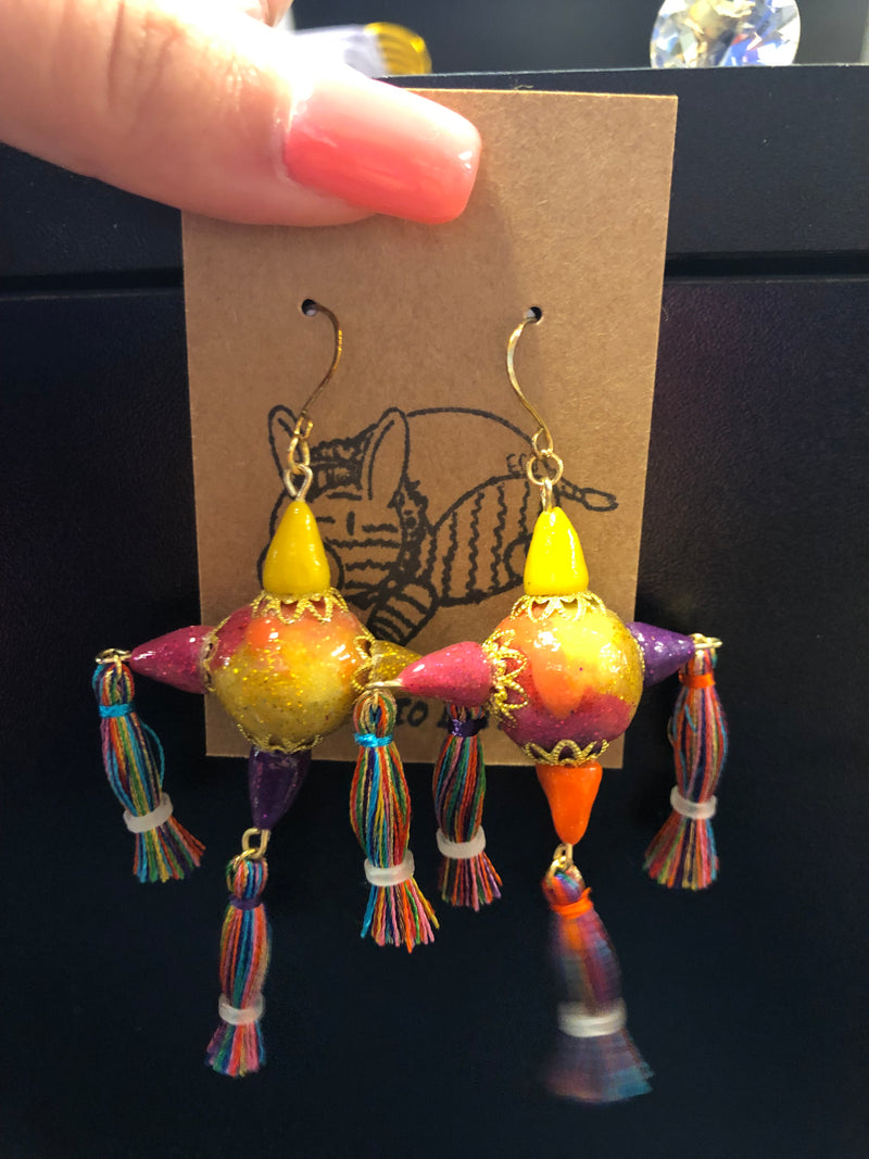 Star Piñata Earrings