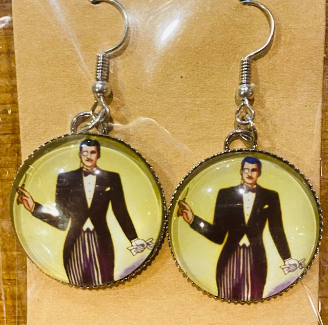 Lotería Dangle Earrings