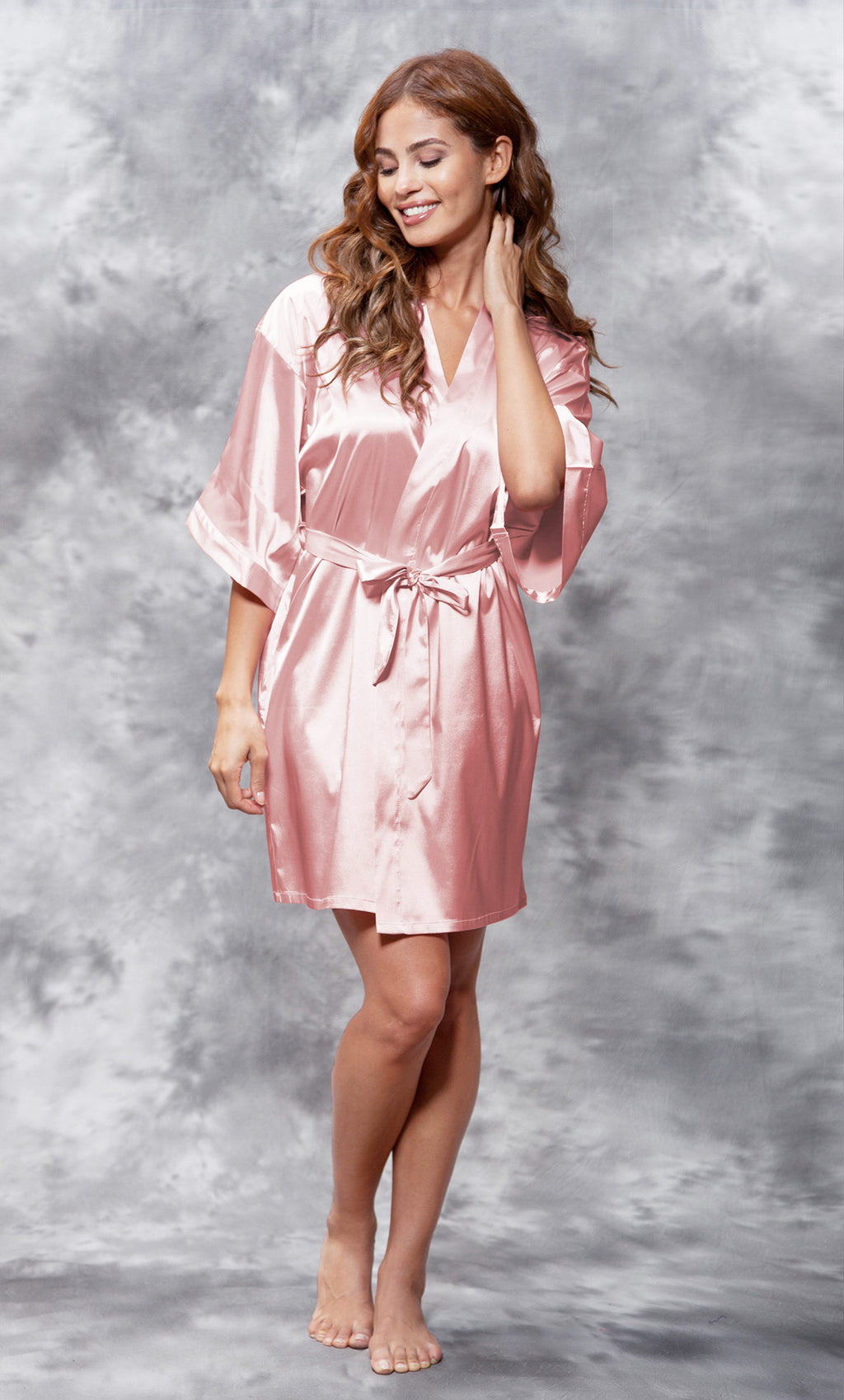Light Pink Silky Satin